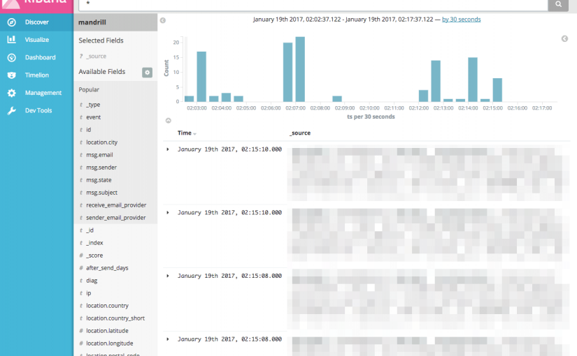 Kibana Date Type Field Query