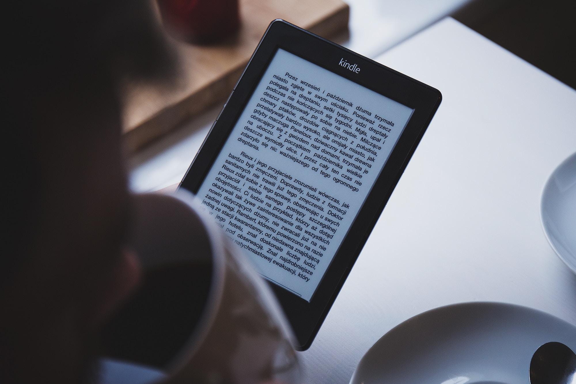 親愛的,你知道 Kindle 也能螢幕截圖嗎?